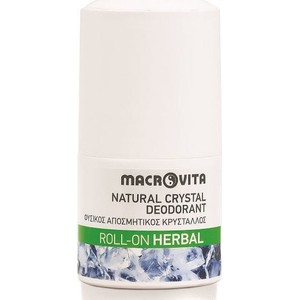 Macrovita natural crystal herbal roll on roll on 50ml