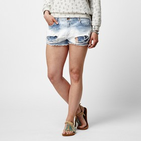 DENIM HIGH WAIST SHORTS  Σορτ Εισ.