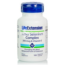 Life Extension SUPER SELENIUM 200mcg - Θυρεοειδούς Αδένας, 100caps