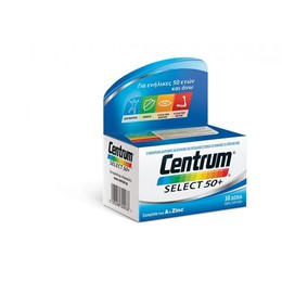 CENTRUM Select 50+ Complete από A to Zinc, 30 tab