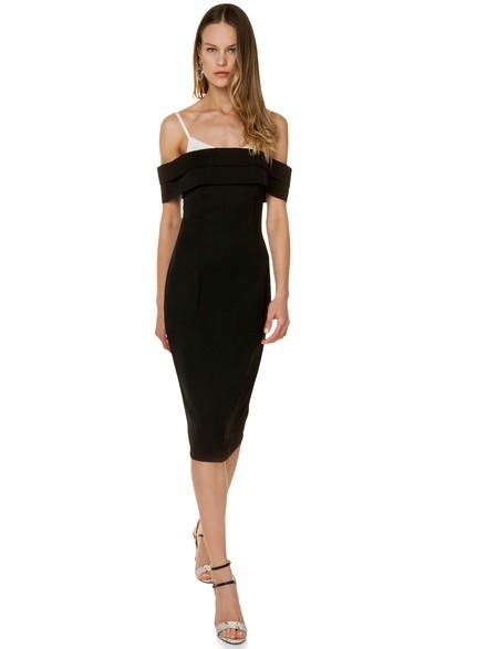 cbc936e4f72e Off shoulder εφαρμοστό φόρεμα