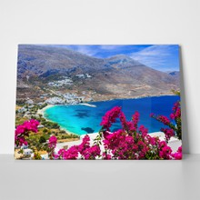 Stunning greek beaches amorgos island aegialis bay 556352140 a