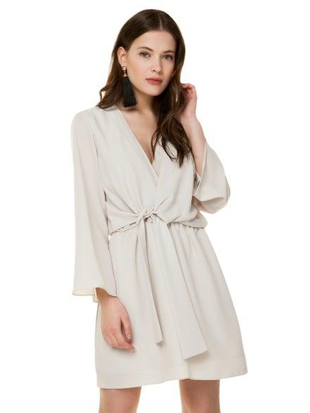Κρουαζέ φόρεμα με φαρδύ μανίκι 55095b5fe15