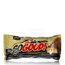 QNT So Good 30% High Protein Bar - Choco Caramel, 60gr