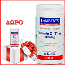 Lamberts Vitamin C 1000mg - Time Release, 60tabs