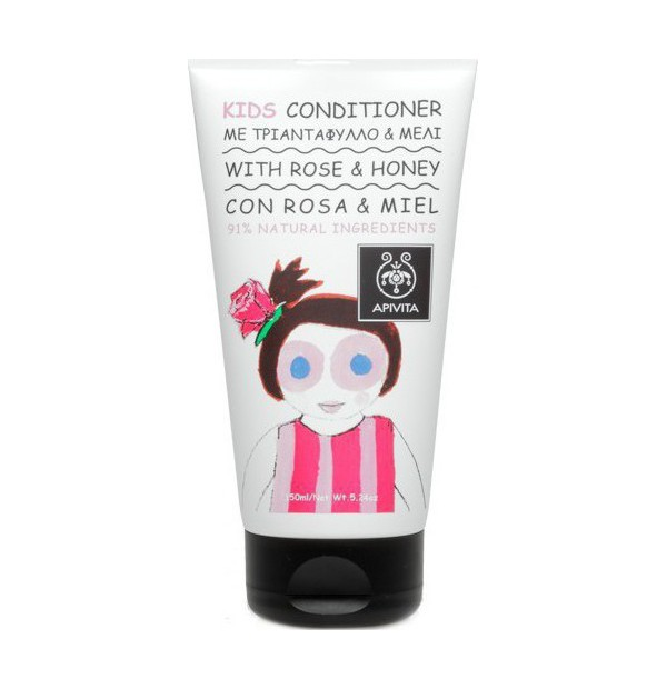 APIVITA KIDS CONDITIONER ROSE+HONEY 150ML