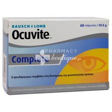 Bausch & Lomb Ocuvite Complete - Υγεία οφθαλμών, 60 caps