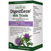 NATURES AID DIGESTEEZE (MILK THISTLE) 60 TABS