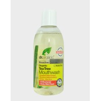 DR.ORGANIC TEA TREE MOUTHWASH 500ML