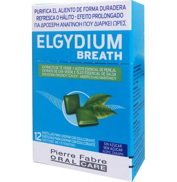 ELGYDIUM BREATH PASTILLES 12PC