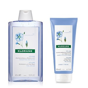 Klorane shampoo ines linariou 400ml   conditioner