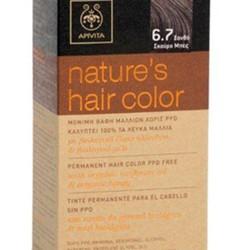 Apivita Nature s Hair Color 6.7 Ξανθό Σκούρο Μπέζ - Pharmafresh cf36a003e12