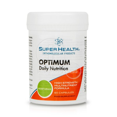 SUPER HEALTH - Optimum Daily Nutrition - 60caps