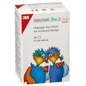 OPTICLUDE Maxi eye patches 5,7cmX8,0cm 20patches