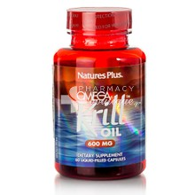 Natures Plus OMEGA KRILL OIL 600mg - Ιχθυέλαια, 60 caps