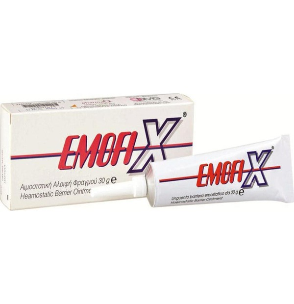 EMOFIX HAEMOSTATIC OINTMENT TUBE 30GR