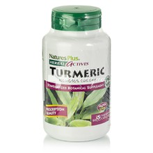 Natures Plus Turmeric 400mg (Curcumin), 60vcaps