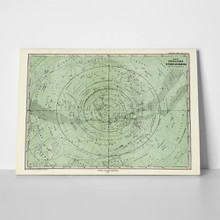 Antique south sky star map 1872 1329123 a