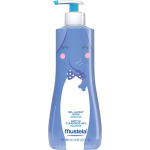 Mustela gentle cleansing gel hair   body
