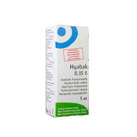 HYABAK SOLUTION 0,15% 5ML