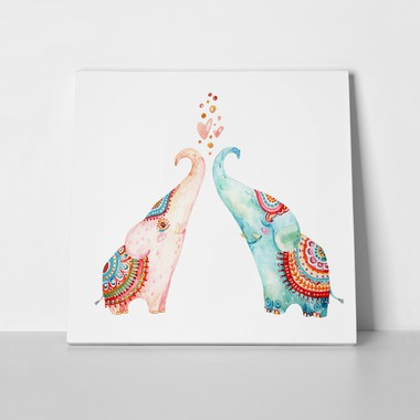 Cute elephants watercolour 590464235 a