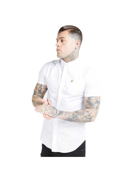 SikSilk S/S Smart Shirt - White