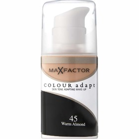 MAX FACTOR COLOUR ADAPT MAKE UP 45 WARM ALMOND