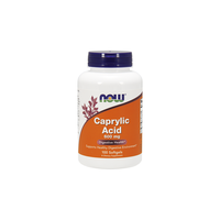 NOW CAPRYLIC ACID 600MG 100SOFTGELS