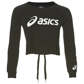 BIG ASICS CROPPED CREW  Μπλούζα Εισ.