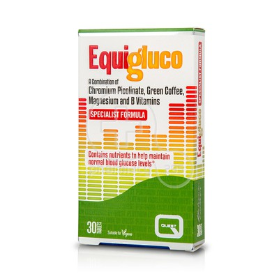 QUEST - Equigluco - 30tabs