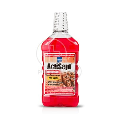 INTERMED - ACTISEPT Cinnamon Mouthwash - 500ml