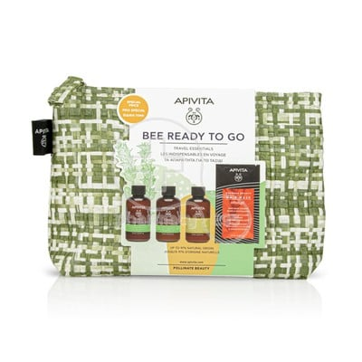 APIVITA - PROMO PACK BEE READY TO GO Travel Essentials - 4τεμ.