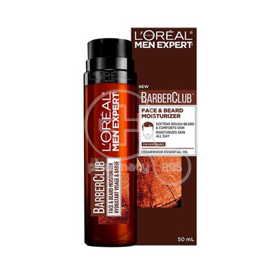 L'OREAL PARIS - MEN EXPERT BARBER CLUB Face & Beard Moisturiser - 50ml