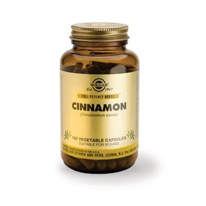 SOLGAR Cinnamon 100vegetable capsules