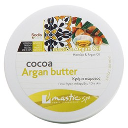 Mastic Spa Cocoa Argan Butter | Κρέμα Σώματος με Μαστίχα & Argan Oil 5 ft. Oz/150 ml