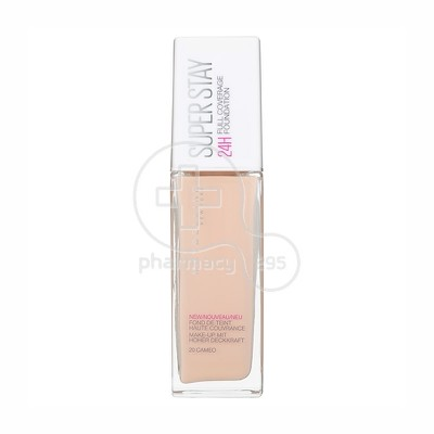 MAYBELLINE - SUPERSTAY Full Coverage Foundation No20 (Cameο) - 30ml