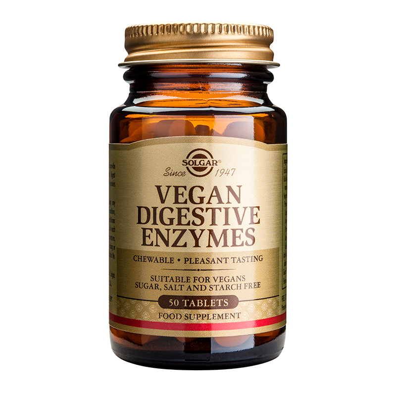 Vegan Digestive Enzymes chewable tabs