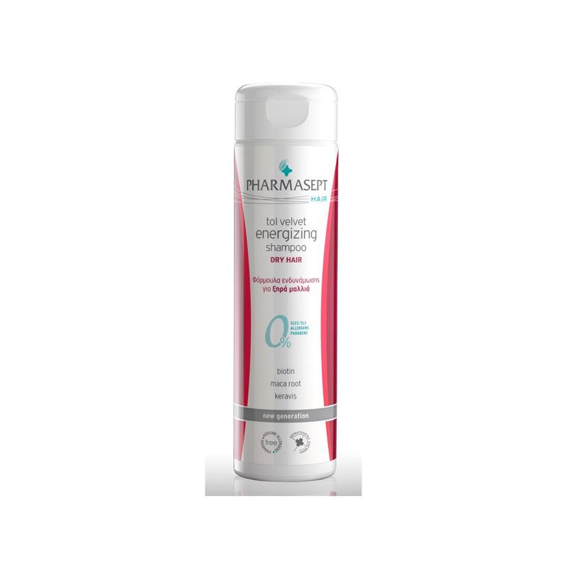 Tol velvet energizing shampoo dry 250ml 4842795fd94