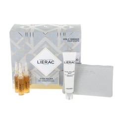 Lierac Christmas Cica-Filler Anti-Wrinkle Repairing Serum - Ορός Αποκατάστασης Kατά Tων Ρυτίδων, 3x10ml + Δώρο Cica Filler Mat Anti-Wrinkle Repairing Cream-Gel, 40ml + Δερμάτινο Πορτοφόλι