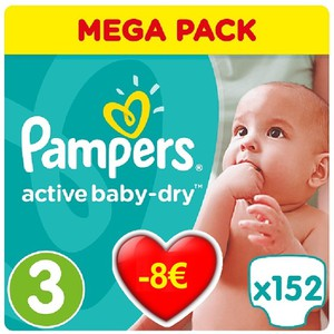 Pampers no3