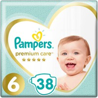 Pampers Premium Care No6 13+kg 38 Πάνες