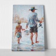 Father and son fishing 250492216 a