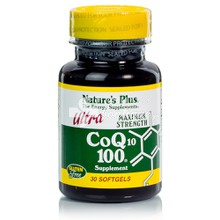 Natures Plus Ultra CοQ10 100mg, 30 softgels