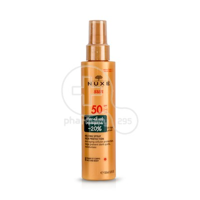 NUXE - SUN Spray Fondant Haute Protection SPF50 - 150ml