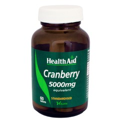 Health Aid Cranberry Extract 5000mg 60 ταμπλέτες