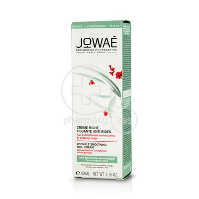 JOWAE - Creme Riche Lissante Anti-Rides - 40ml PS
