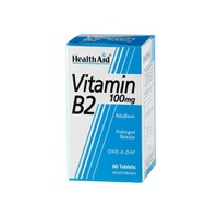 HEALTH AID VITAMIN B2 100MG 60TABL
