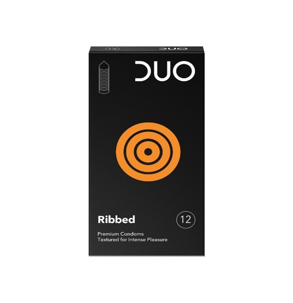 DUO RIBBED (ΜΕ ΡΑΒΔΩΣΕΙΣ) 12ΤΕΜ