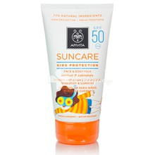 Apivita Suncare Kids Face & Body Milk SPF50 - Βερύκοκο & Καλέντουλα, 150ml