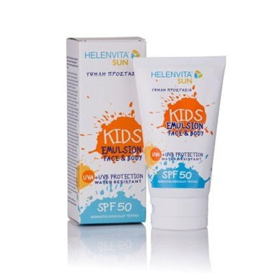 Helenvita - Sun Kids Emulsion Face & Body SPF50 - 150ml